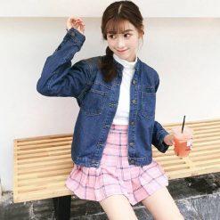denim, outer, jacket, blue, vintage, oversized, shirt