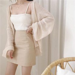 pullover, linefriends, line, korean, kawaii, cute, couple, sisters, yellow, white, brown, cony, sally, kakao, cute, pretty, simple, musthave, 2019, outer, knitwear, jacket