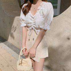 white, girl, beauty, pretty, model, princess, top, skirt, dress, white, simple, gorgeous, look, outfit, lacey, sexy, ootd must, facebook, instagram, korean, uzzlang, korea, malaysia, singapore, denim, beautiful, amaze